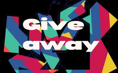 Fiz um Giveaway nas redes sociais! Om!